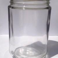 Botol Toples Beling Jar 500ml (kaca) : Bulat & Silinder, penutup Seng