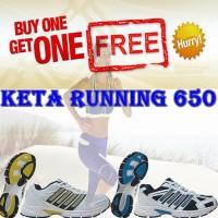 Jual Buy 1 Get 1 - Sepatu running wanita Hot Promo KETA kode 650 Murah