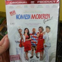 DVD FILM KOMEDI MODERN GOKIL (INDRO WARKOP)