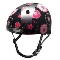 Apparel Nutcase Helmet S/M Rose Hibiscus