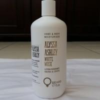 Alyssa Ashley White Musk Hand & Body Moisturizer/Lotion