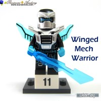 LEGO Minifigures Series 15 - Winged Mech Warrior Minifigure Seri #11
