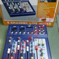 Harga mixer linkmaster f4 usb 4 channel | Hargalu.com