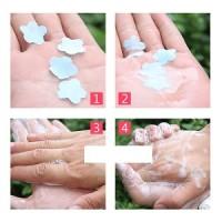 Sabun Kertas Warna Warni Sabun Praktis tanpa Ribet