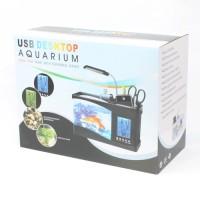 harga Usb Desktop Aquarium Mini Fish Tank With Running Water - Ls0404 Tokopedia.com