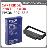 Jual CARTRIDGE PRINTER KASIR EPSON ERC 38/ERC 38 RIBBON CARTRIDGE ORIGINAL Murah