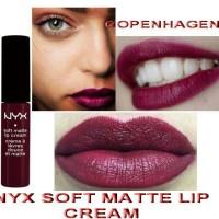 nyx soft matte lip cream warna copenhagen