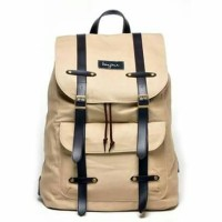 Jual Tas Ransel Backpack Laptop/Bonjour Alphonse Cream Murah