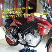 harga Knalpot Tiger Revo + Cover Replika Handmade PnP New Vixion (NVL-NVA) Tokopedia.com
