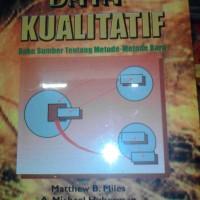 Analisis Data Kualitatif(Penerbit:U.I.P)