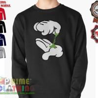 Sweater / Sweatershirt Mickey Mouse Hand Pot