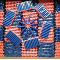 Peluru Nerf Darts Refill Blue w/ Orange Tip ( 10 pcs )