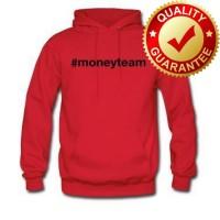 Hoodie Floyd Mayweather Money Team - Red - FAXE TEES M.K