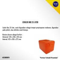 Jual Coolbox Cooler Box Peti Es Merk Ocean 35 Liter