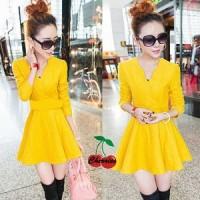 dress lemonade CR Pakaian baju busana gaun wanita