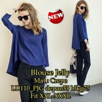 Blouse Jelly SW Pakaian baju busana blus atasan wanita