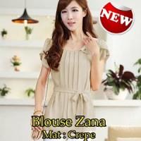 Blouse Zana SW Pakaian baju busana blus atasan wanita