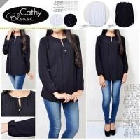 Cathy Blouse HO Pakaian baju busana blus atasan wanita