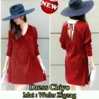 Dress Chiyo SW Pakaian baju busana gaun wanita