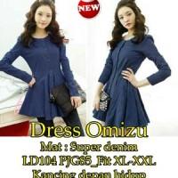 Dress Omizu SW Pakaian baju busana gaun wanita