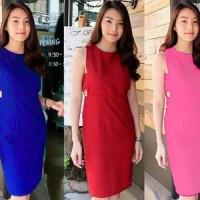 Dress Quino YT Pakaian baju busana gaun wanita