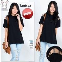 Hem Tanisya SW Pakaian baju busana blouse blus atasan wanita