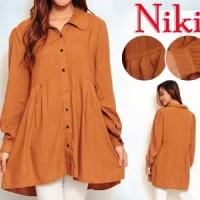 Blouse Niki Top SW Pakaian baju busana blus atasan wanita