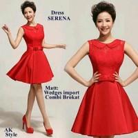 Sherena dress AK Pakaian baju busana gaun wanita
