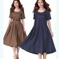 Dress arumi YR Pakaian baju busana gaun wanita