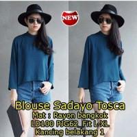 Blouse Sadayo Tosca SW Pakaian baju busana blus atasan wanita