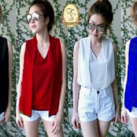 Blouse Frozen AY Pakaian baju busana blus atasan wanita