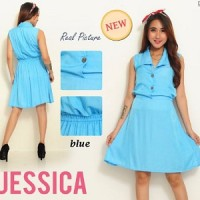Dress Jessica SW Pakaian baju busana gaun wanita