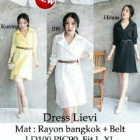 Dress Lievi SW Pakaian baju busana gaun wanita