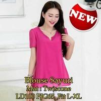 Blouse Sayuri SW Pakaian baju busana blus atasan wanita