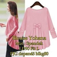 Blouse Yohana SW Pakaian baju busana blus atasan wanita