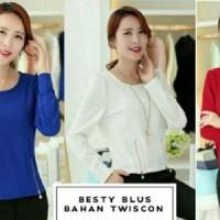 Blouse Besty HO Pakaian baju busana blus atasan wanita
