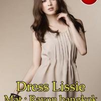 Dress Lissie SW Pakaian baju busana gaun wanita