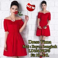 Dress Virna SW Pakaian baju busana gaun wanita