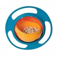 Gyro Bowl Mangkok Anti Tumpah Cocok Tempat Makanan Bayi bs Jadi Mainan