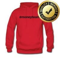 Hoodie Floyd Mayweather Money Team - Red - FAXE TEES LarisJaya