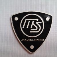 Emblem plat MS(mazda speed) logo mazda 2,3,6,cx5,rx8,lantis,familia