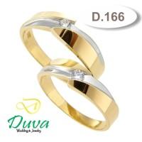Cincin Kawin Tunangan Perak Couple D.166