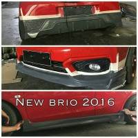 BodyKit Plastik New Honda Brio RS 2016