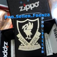 Zippo Super Premium Custom Logo Liverpool!! Gratis Request Nama.....!