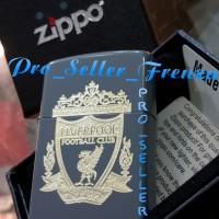 Zippo Super Premium logo liverpool ,Gratis req Nama!!!