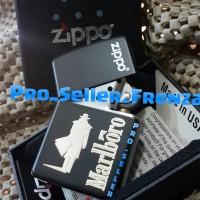 Zippo Super Premium Custom Marlboro..! Gratis Request Nama..!