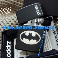 Zippo Super Premium Custom Logo Batman + Gratis Request Nama !!