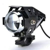 Jual Lampu Motor Transformer LED Projector Headlight Cree- U2 3000 Lumens Murah