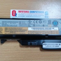 Original Baterai Batre Battery Laptop LENOVO G475, G560, G570, G575