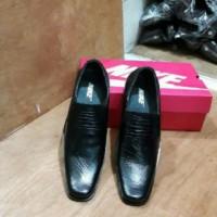 sepatu pantofel nike formal pesta pria hitam full black